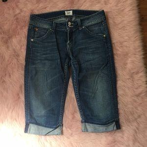 Hudson Cropped Capri Jeans
